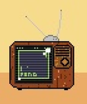 Pong TV Retro by Gazzycakes