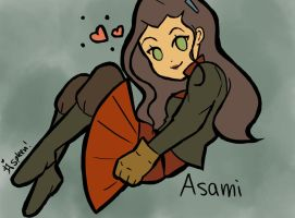 Cutie Asami by love-your-spleen