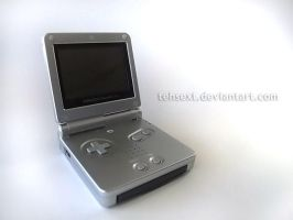 Gameboy Advance SP by TehSext