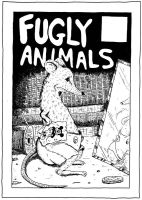 Fugly Animals Cover Inks by oh-the-humanatee