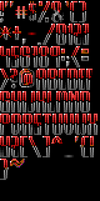 TheDraw ANSI Font 'Innocence' by roy-sac