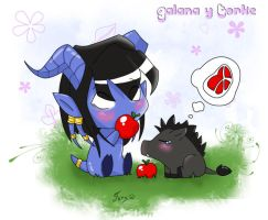 WoW Galana and Torke by Jenovita