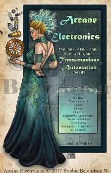 Arcane Electronics by BobbieBerendson