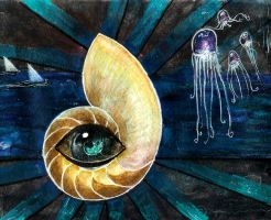 Nautilus Eye of Truth by Phosphorose