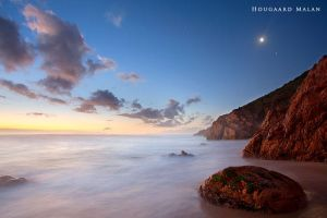 Moonrise by hougaard