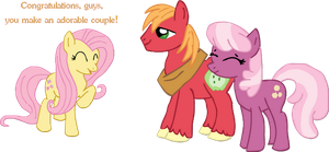 Fluttershy approves by Donald-Bottom
