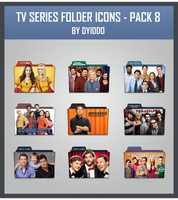 TV Series Folder Icons - Pack 8 by DYIDDO