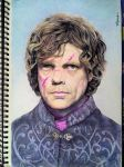 Portrait of Tyrion Lannister. by TheComicArtist