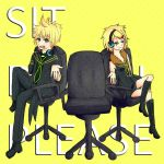 Sit Down Please. by Stuck-Under-A-Rock