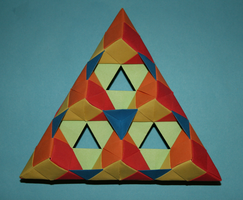 Origami triangle by MuggleHater