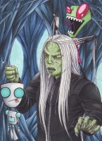 The humans are MINE!!! - Wraithcalendar 2014 by Ganjamira