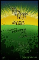 Jeremiah 29:11 by Draw4life