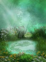 Magical pond by UlyssesFae