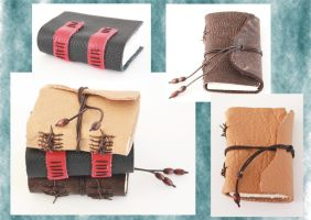 Medieval Limp Binding - Mini Journals by Bluelisamh