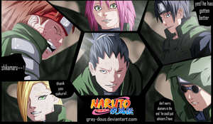 Naruto 649 Shikamaru'S Return by Gray-Dous