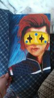 Gerard Way Party Poison Painting by Loplovinglydia