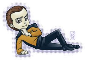 The Big Bang Trek- Sheldon by lordmesa