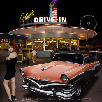 Drive-In - III by Walking-Tall