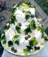 Acorns and Leaves by AnnsCakes