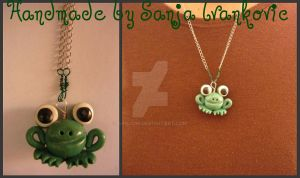 Freddy the Frog's mother by sanjoni