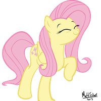 Fluttershy by xAxiom