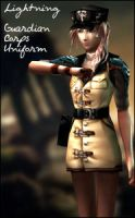 Dissidia 012 Lightning P3 by raidergale