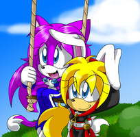 Scitt and Kassy -collab- by ScittyKitty