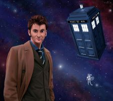 Dr. Who by Mattspaintings
