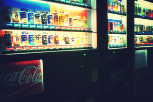 Vending machine in japan by tina-Kazusa