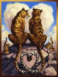 Tiger Love by QueenGwenevere