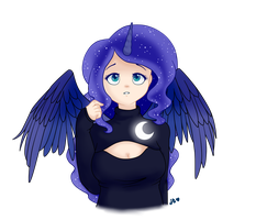 Luna - Keyhole Sweater by xNekorux