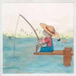 Fishing boy by Tankitha