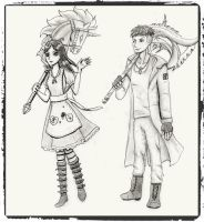 Alice and Dante by CataNightray