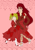 Kuro: Ladies in Red by sweetsnow73