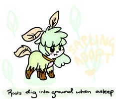 Sapling Adopt! (OPEN) by LaceyBells