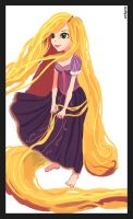 Princess Rapunzel - Tangled by killer-64