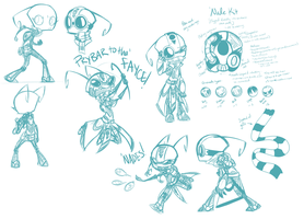 Killswitch Concept Sketches by TheCau