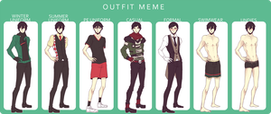 DH: Alfred's Outfit Meme by NANOKUMA