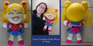 PGSM - Sailor Moon Plushie by sakkysa