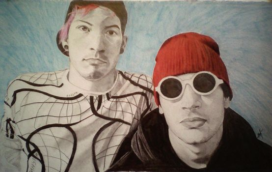 Twenty One Pilots by Salomea0402