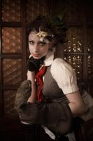 STEAMPUNK_The Adventuress by TheOuroboros