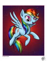 Rainbow Dash by Razia
