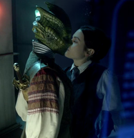 Vastra and Jenny Kiss by Dragoon23