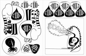 krayola eater stickers by ouchis