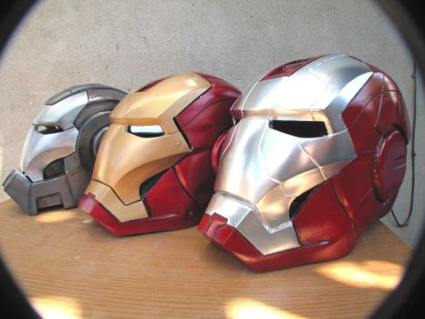 iron man helm mania by NMTcreations