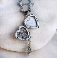 Silver Heart Locket 1 by Aranwen