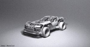 Lego Super Car by Omessler
