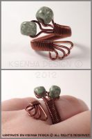 Copper Green by KsenyaDesign
