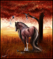 The Voice of Autumn by Lunameyza