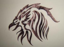 Bloody Roar Griff Insignia by Kittie-cat-black